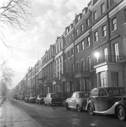 Eaton Square, Belgravia; 1955