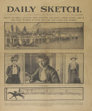 Daily Sketch newspaper dated 9th June 1913
