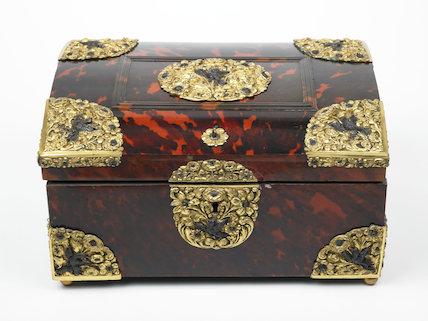 Post-Medieval Tortoiseshell casket
