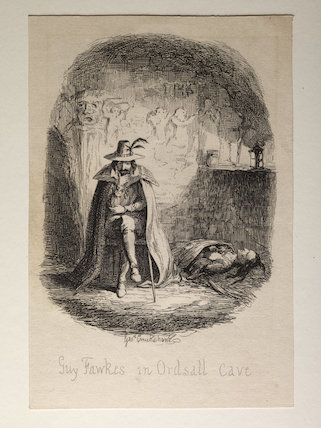 Guy Fawkes in Ordsall Cave;1841