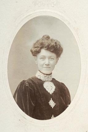 Suffragette Mrs Elizabeth Impey; c.1910