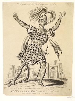 Mr C. Kemble as Edgar in King Lear; 1822-1839