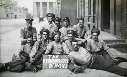 The €˜Bermondsey B'hoys from the 2nd Grenadier Guards