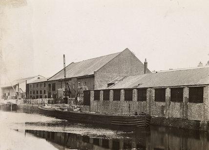 Eagle Wharf - G. G. Jackson.