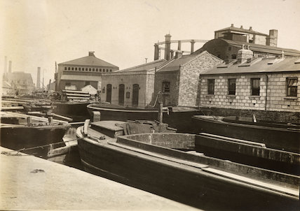 South Metropolitan Gas Works -  Surrey Canal