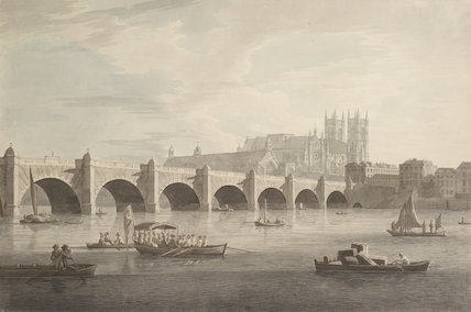 Westminster Bridge; 1790