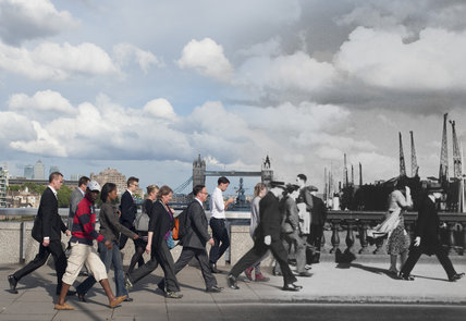 London Bridge Commuters 1935 - 2014
