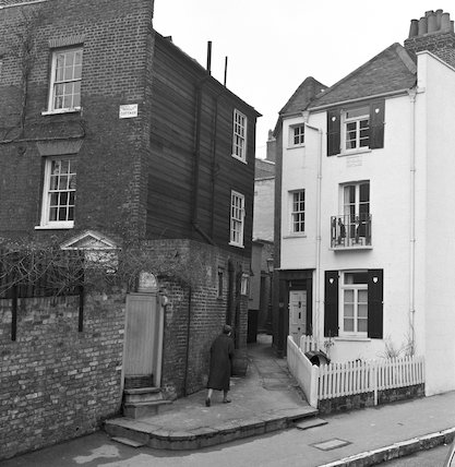 A scene in Hampstead. c.1955