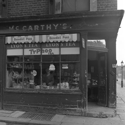 McCarthy's grocery store. c.1955