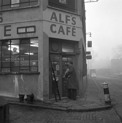 Alf's Cafe. c.1955