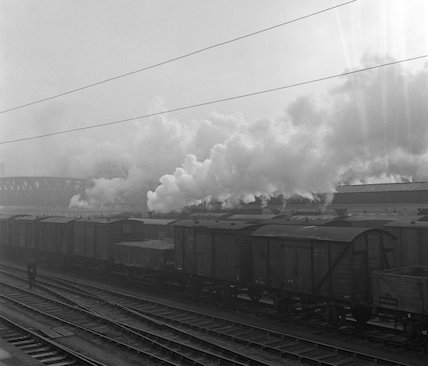 Freight trains. c.1955