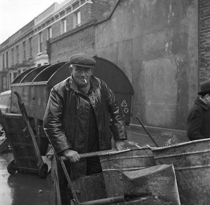 Street sweeper. c.1955