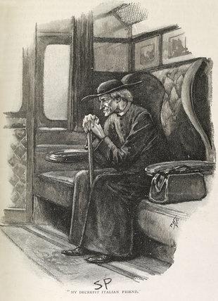 Illustration from the Strand Magazine;1893