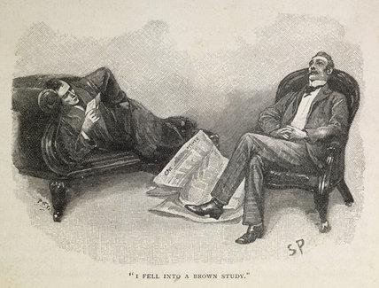 Illustration from the Strand Magazine; 1893