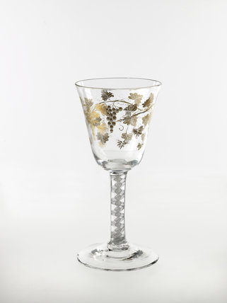 Wine glass or goblet  1765-1780