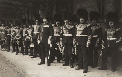The Coldstream Guards Band, c1905