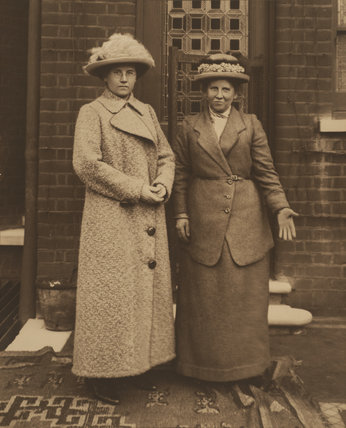 Christina and Winnie Broom, c. 1915