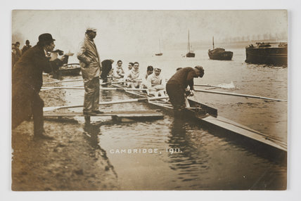 The Oxford team, University Boat Race, Putney, 1911