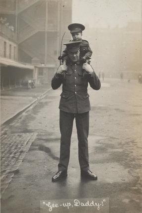 Captain Spencer, of 1st  Life Guards, 1914