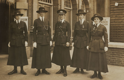 Officers of the Women Police Service 1916