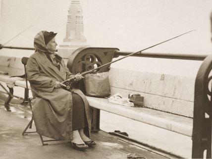 Last photograph taken of Christina Broom; 1939
