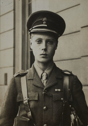 HRH The Prince of Wales as a Second Lieutenant;1914