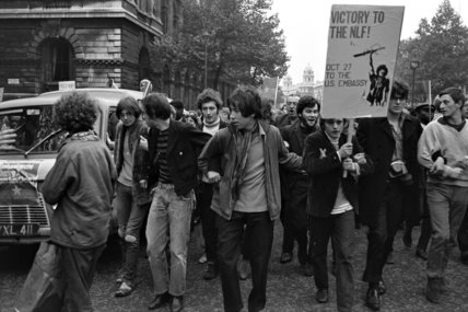 Anti Vietnam protest; 1968