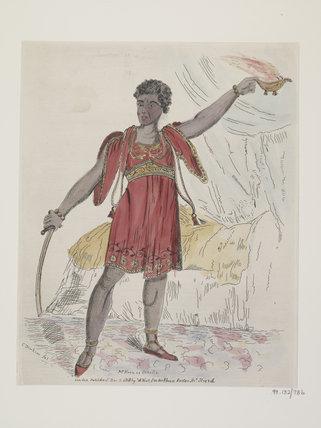 Mr Kean as Othello: 1818