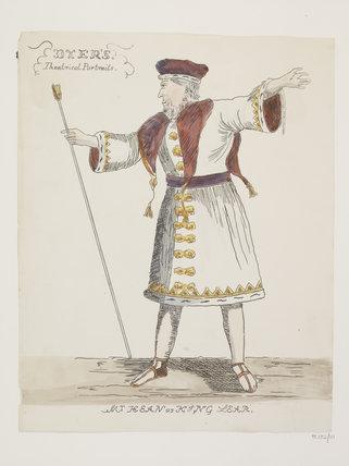 Mr Kean as King Lear: c.1830