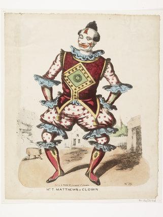 Mr T.Matthews as Clown