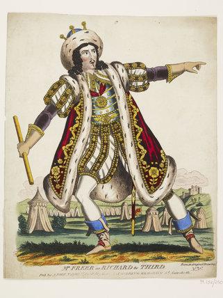 Mr Freer as Richard the Third: c.1830