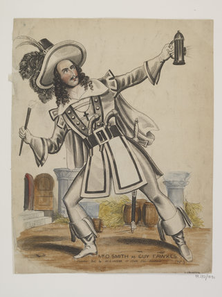 Mr O.Smith as Guy Fawkes: c.1850