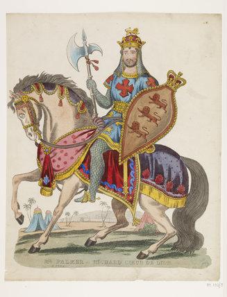 Mr Palmer as Richard Coeur de Lion: 1840