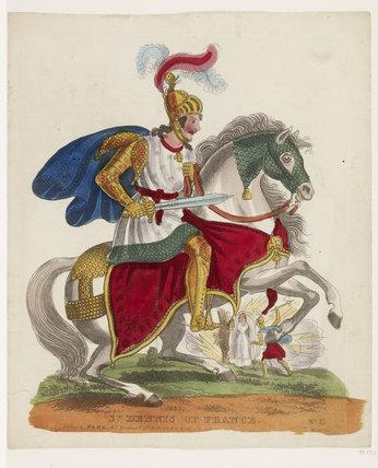 St Dennis of France: c.1840