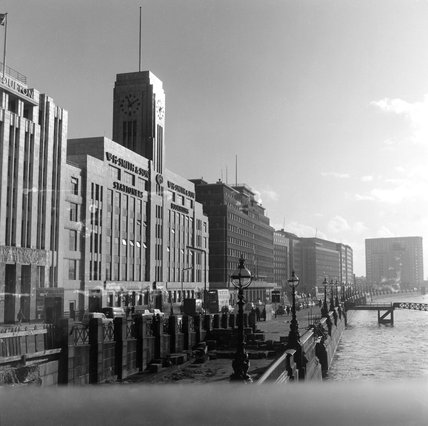 The WH Smith Building by the River Thames; 1962