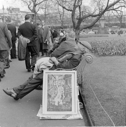 Victoria Embankment Gardens; 1960