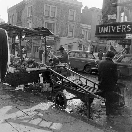 Barrow on the Portabello Road; 1968