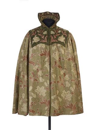 A cape of a Liberty fabric: c.1895