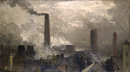The Wood Lane Power Station: 1907