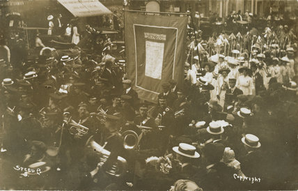 WSPU 'From Prison to Citizenship' procession, 18 June 1910