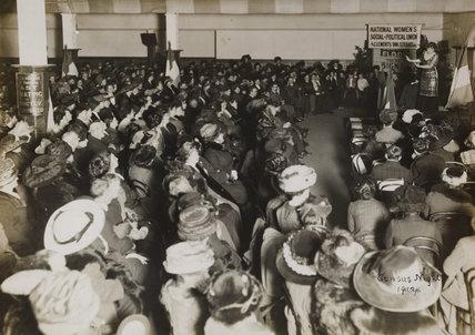 WSPU Census Registry meeting, 1911