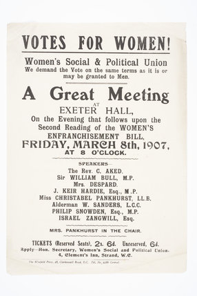 A Great Meeting.  Exeter Hall, March 8, 1907