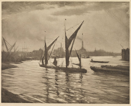 View of the Thames at Deptford