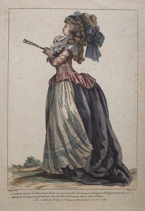 La brilliante Nymphe du Palais Royal offrant aux yeux de public: 1785