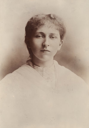 Photograph of Suffragette Ethel Haslam: 1905-1914
