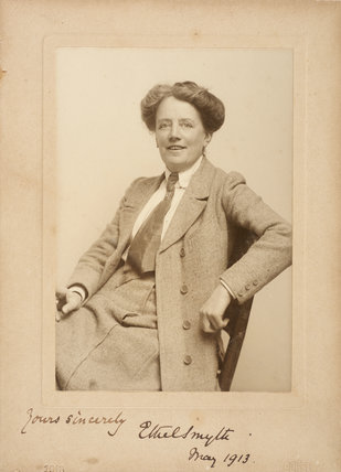 Ethel Smyth, May 1913