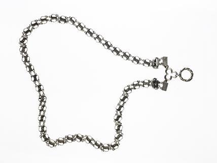 Silver chain: 15th century