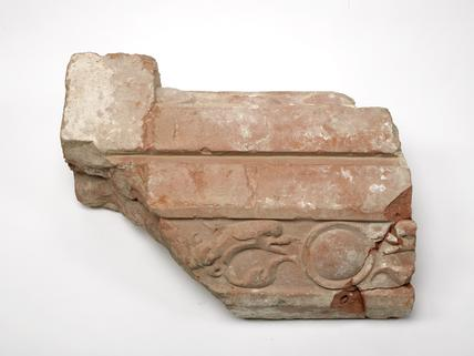 Part of a terracota moulding: early 16th century