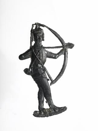 Pewter badge of an archer,  late 14th century