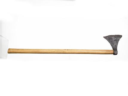 Medieval  iron battleaxe: 11th century